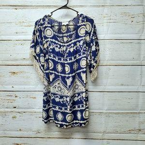 Umgee Print Tunic/Dress